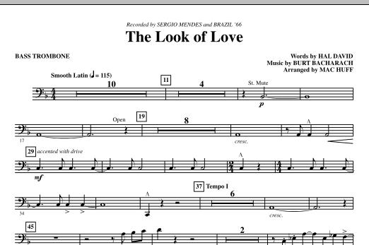 The Look Of Love - Bass Trombone (Choir Instrumental Pak)