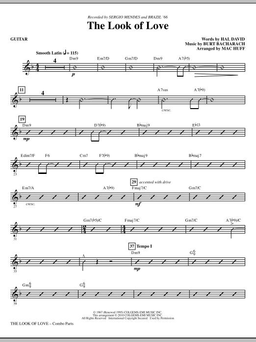 The Look Of Love - Guitar (Choir Instrumental Pak)