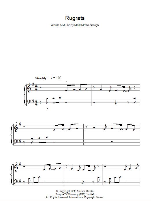 Rugrats Sheet Music