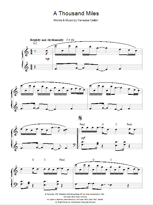 Chords For A Thousand Years Piano Images Chord Guitar Finger Position