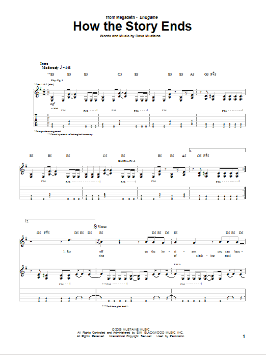 How The Story Ends Sheet Music