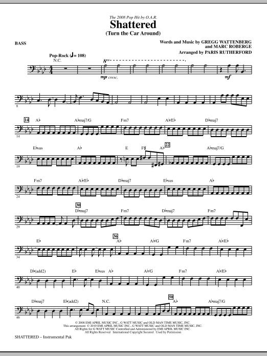 Shattered (Turn The Car Around) - Bass Sheet Music