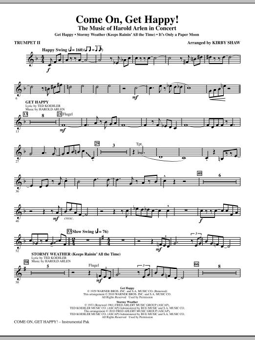 Come On, Get Happy! The Music Of Harold Arlen In Concert (Medley) - Trumpet 2 (Choir Instrumental Pak)