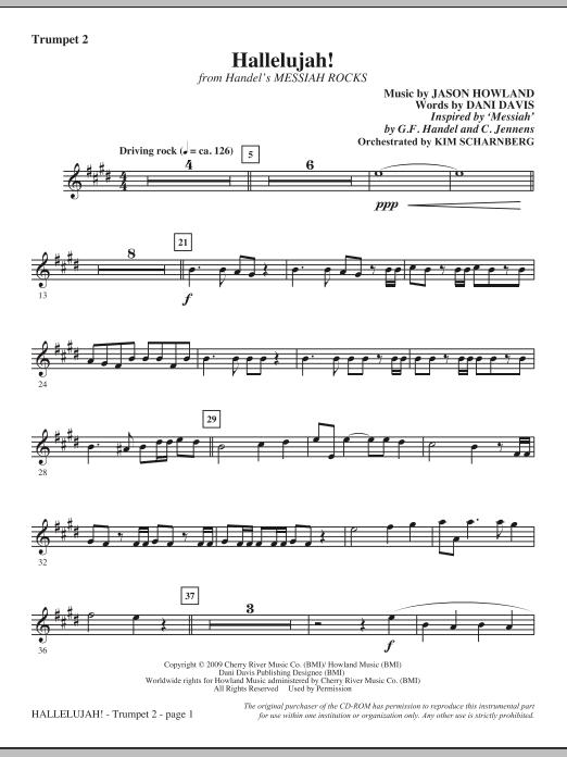 Hallelujah! (from Messiah Rocks) - Trumpet 2 (Choir Instrumental Pak)