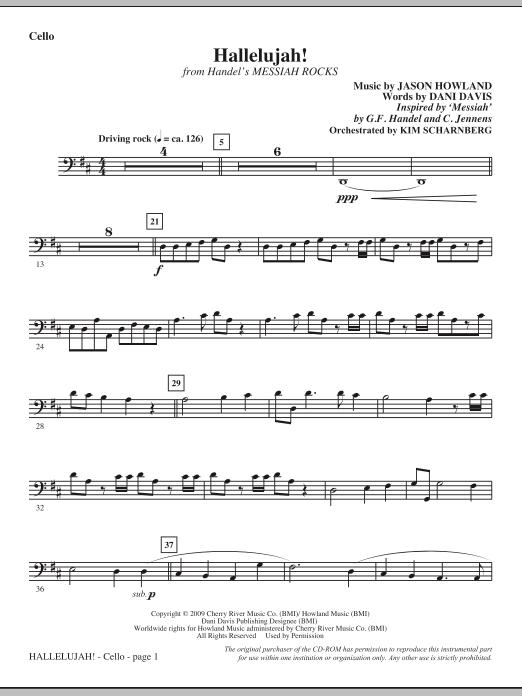 Hallelujah! (from Messiah Rocks) - Cello Sheet Music