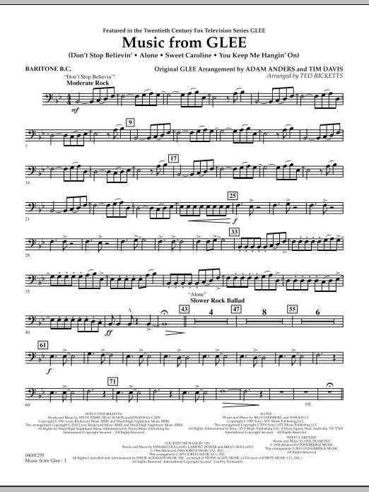 Music from Glee - Baritone B.C. (Concert Band)