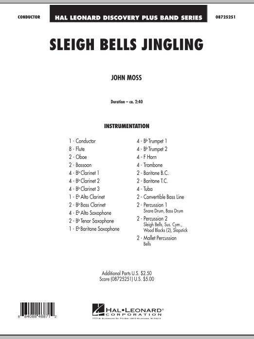 Sleigh Bells Jingling - Full Score (Concert Band)