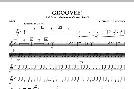 Groovee! - Oboe (Concert Band)