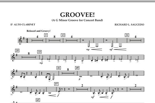 Groovee! - Eb Alto Clarinet (Concert Band)