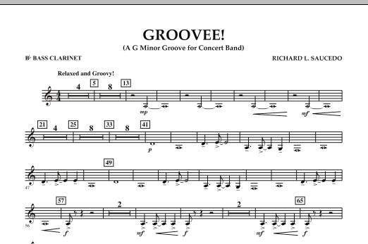 Groovee! - Bb Bass Clarinet (Concert Band)