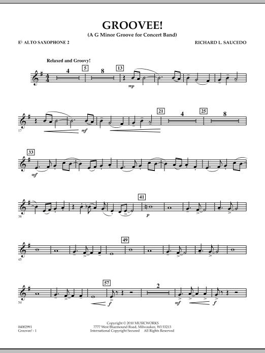 Groovee! - Eb Alto Saxophone 2 (Concert Band)
