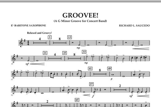 Groovee! - Eb Baritone Saxophone (Concert Band)