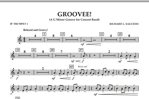 Groovee! - Bb Trumpet 1 (Concert Band)