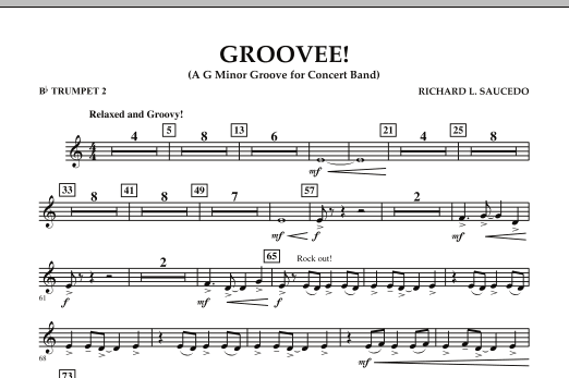 Groovee! - Bb Trumpet 2 (Concert Band)