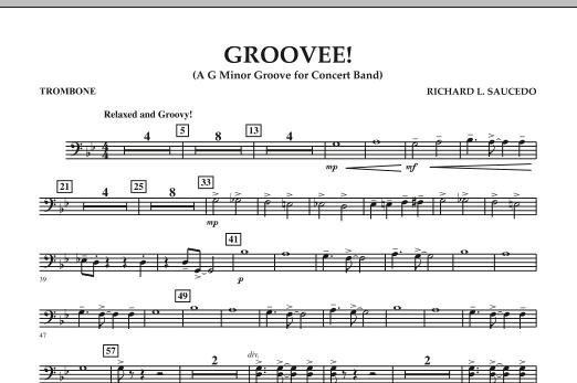 Groovee! - Trombone (Concert Band)