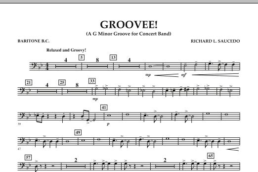 Groovee! - Baritone B.C. (Concert Band)