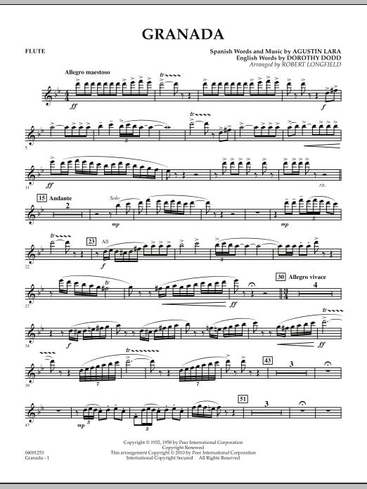 Granada - Flute (Concert Band)