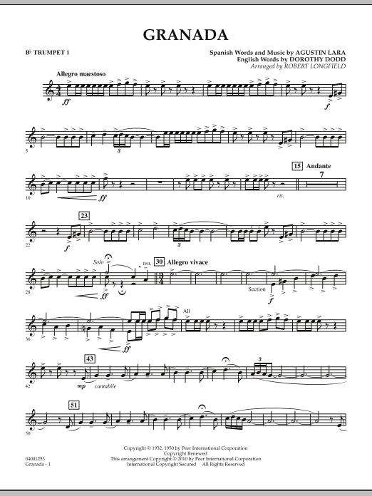 Granada - Bb Trumpet 1 (Concert Band)