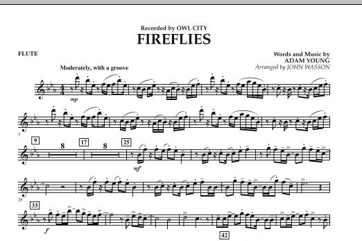 Fireflies - Flute (Concert Band)
