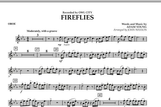 Fireflies - Oboe (Concert Band)