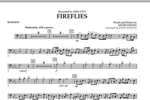 Fireflies - Bassoon (Concert Band)
