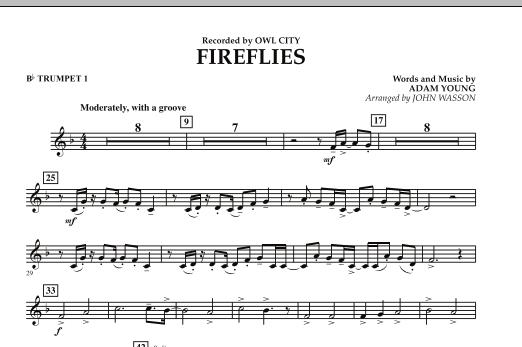 Fireflies - Bb Trumpet 1 (Concert Band)