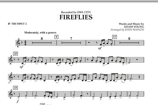Fireflies - Bb Trumpet 2 (Concert Band)