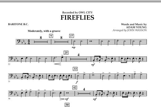 Fireflies - Baritone B.C. (Concert Band)