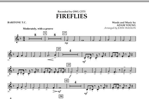 Fireflies - Baritone T.C. (Concert Band)