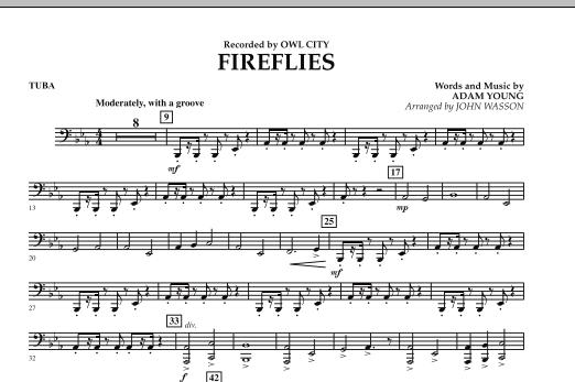 Fireflies - Tuba (Concert Band)