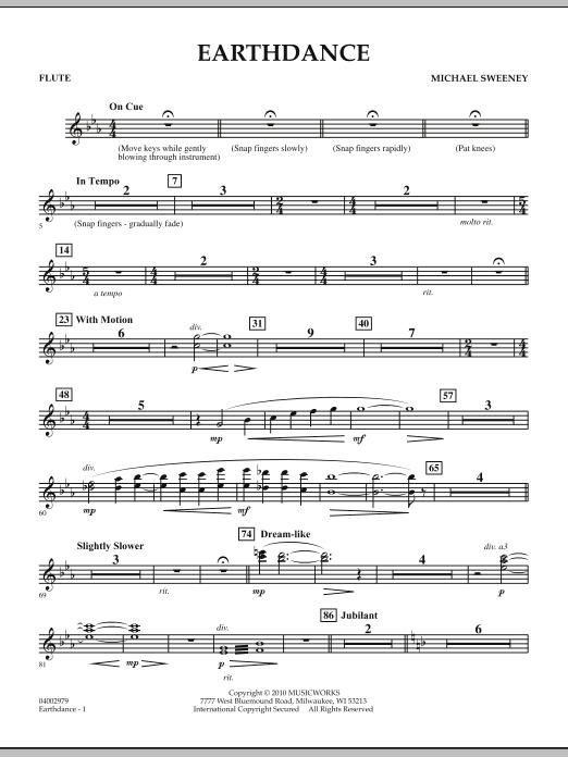 Earthdance - Flute (Concert Band)