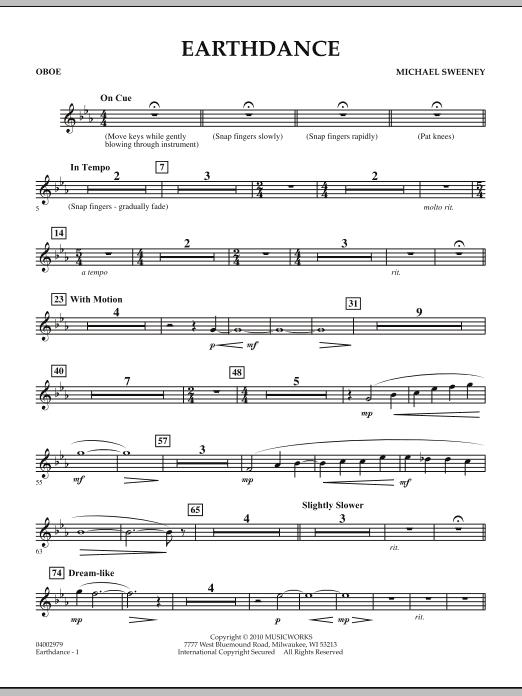 Earthdance - Oboe (Concert Band)