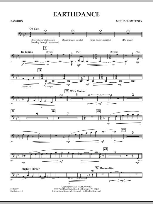 Earthdance - Bassoon (Concert Band)