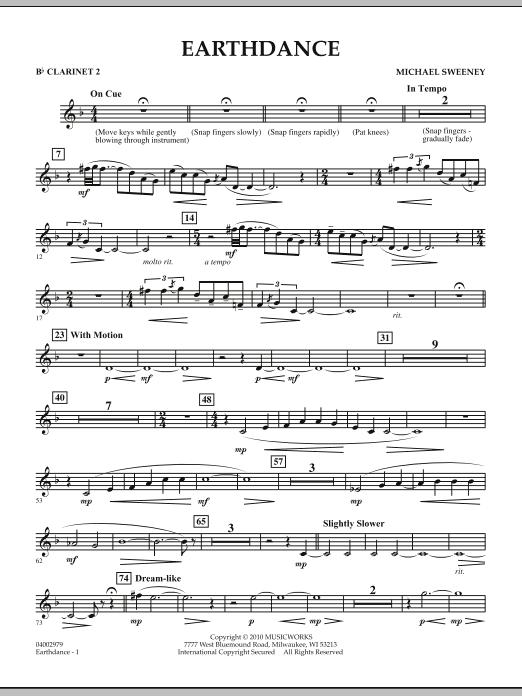 Earthdance - Bb Clarinet 2 (Concert Band)