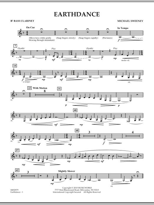 Earthdance - Bb Bass Clarinet (Concert Band)