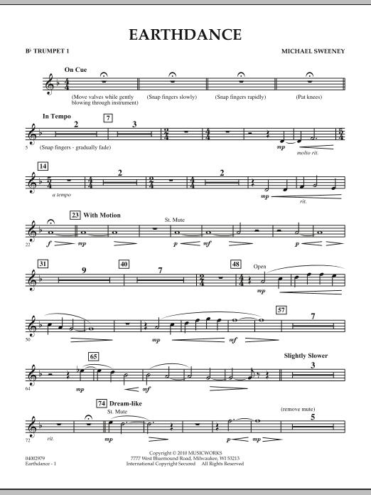 Earthdance - Bb Trumpet 1 (Concert Band)