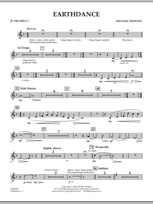 Earthdance - Bb Trumpet 2 (Concert Band)