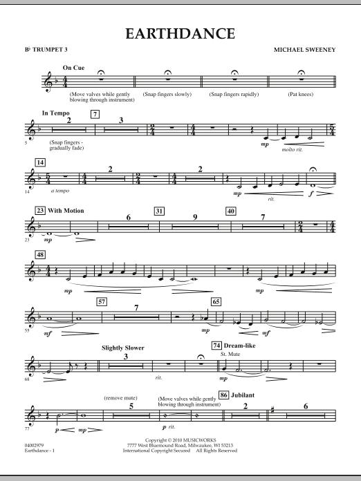 Earthdance - Bb Trumpet 3 (Concert Band)