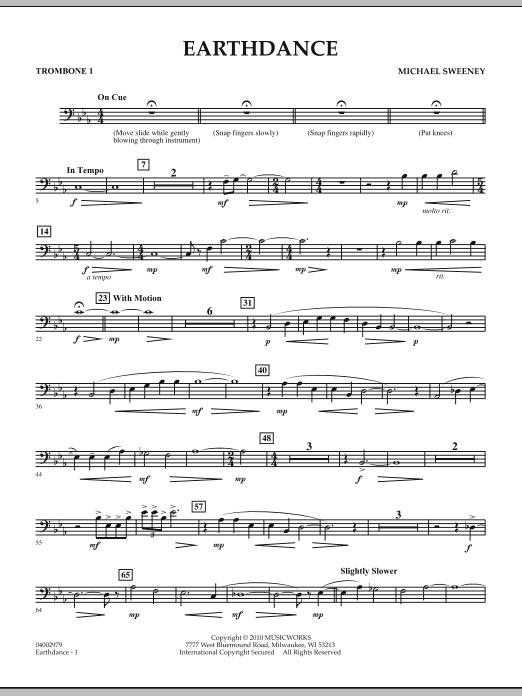 Earthdance - Trombone 1 (Concert Band)