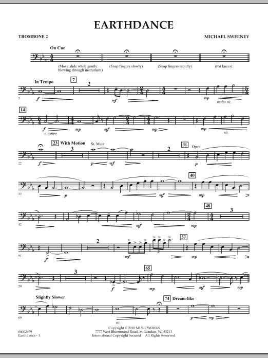 Earthdance - Trombone 2 (Concert Band)