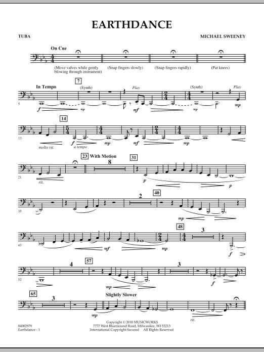 Earthdance - Tuba (Concert Band)
