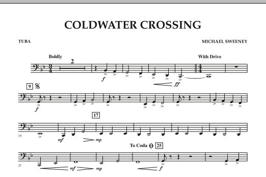 Coldwater Crossing - Tuba (Concert Band)