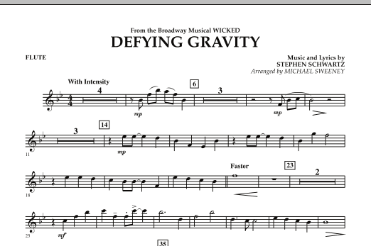 Defying Gravity (from Wicked) - Flute (Concert Band)