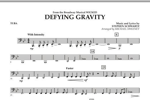 Defying Gravity (from Wicked) - Tuba (Concert Band)