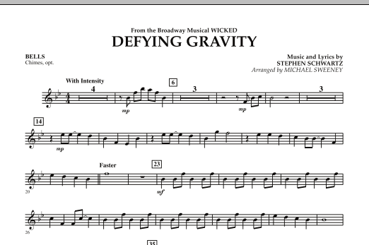 Defying Gravity (from Wicked) - Bells (Concert Band)