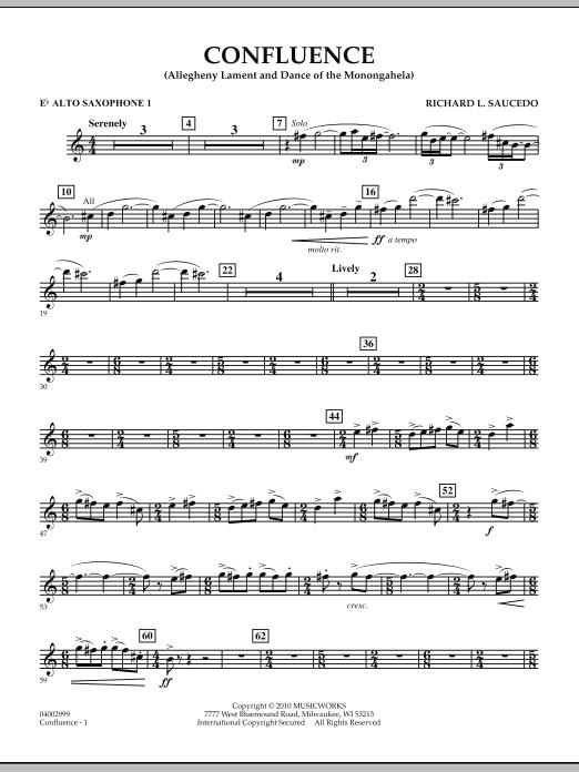 Confluence - Eb Alto Saxophone 1 (Concert Band)