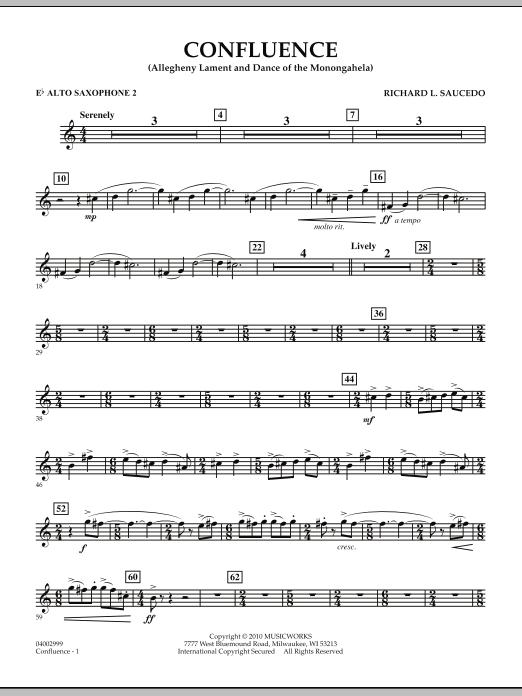 Confluence - Eb Alto Saxophone 2 (Concert Band)