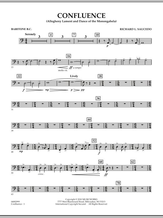 Confluence - Baritone B.C. (Concert Band)