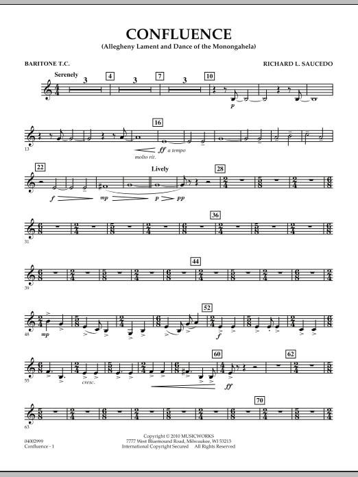 Confluence - Baritone T.C. (Concert Band)