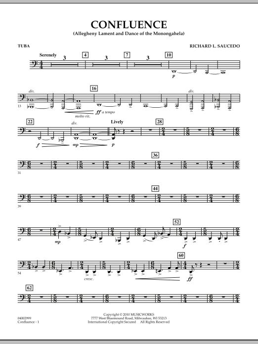 Confluence - Tuba (Concert Band)
